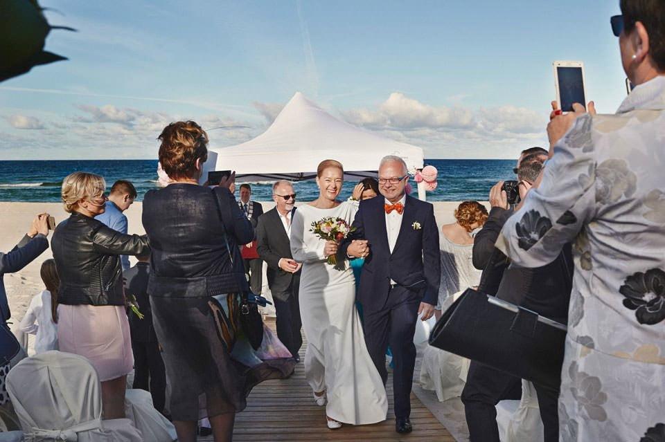 Ślub plenerowy nad morzem 47