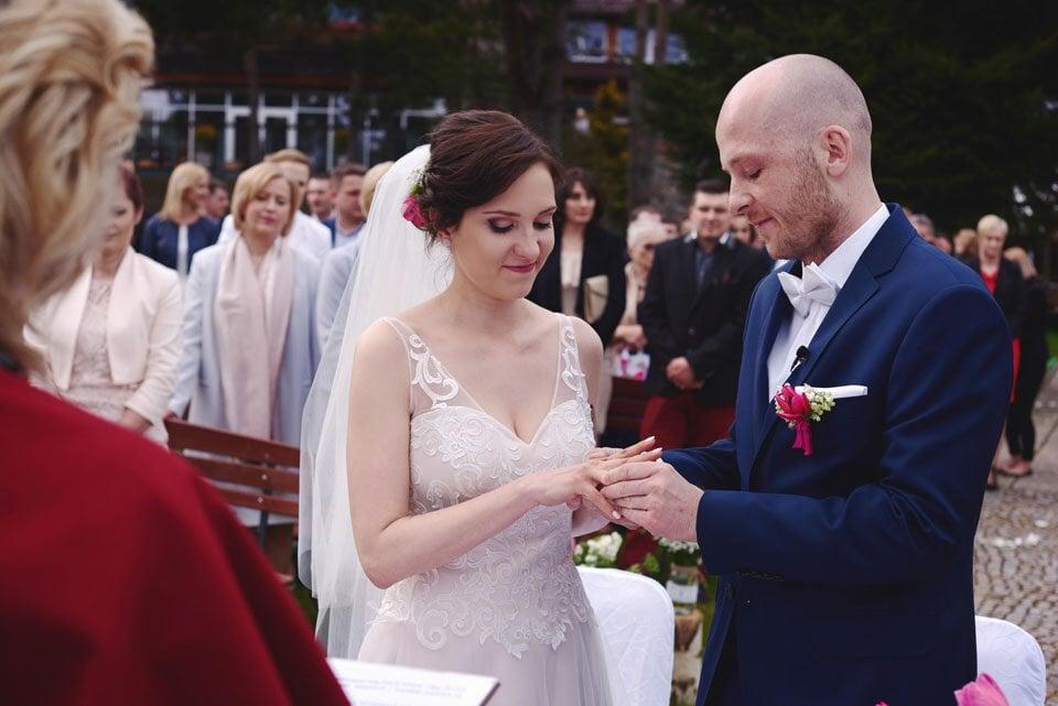 Ślub plenerowy w Kozim Grodzie 34
