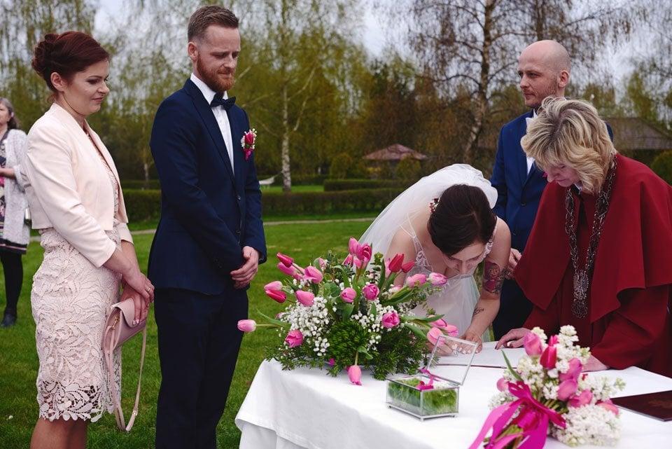 Ślub plenerowy w Kozim Grodzie 42