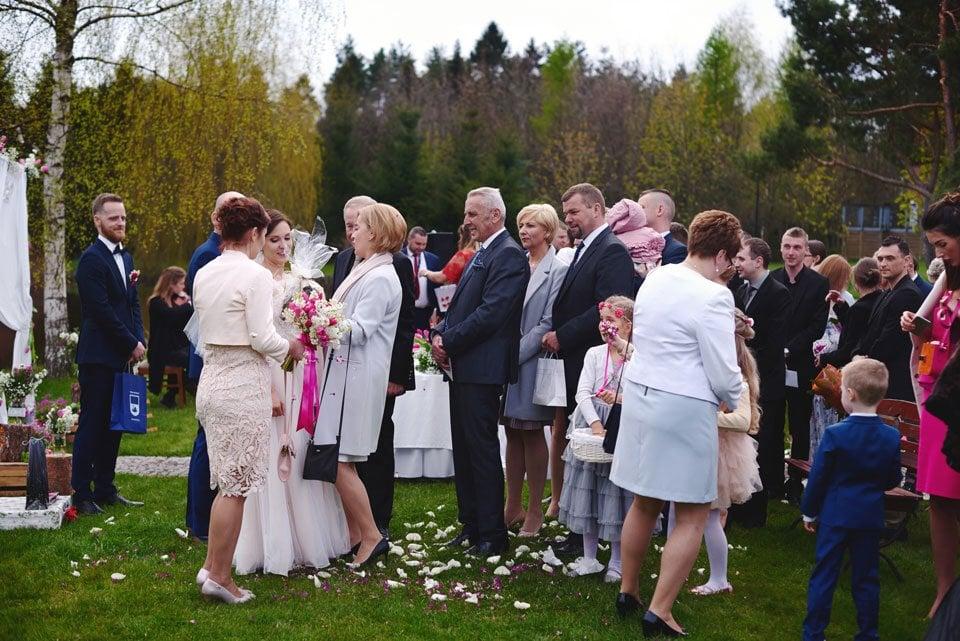 Ślub plenerowy w Kozim Grodzie 45