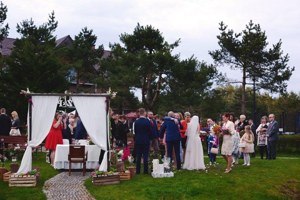 Ślub plenerowy w Kozim Grodzie 47