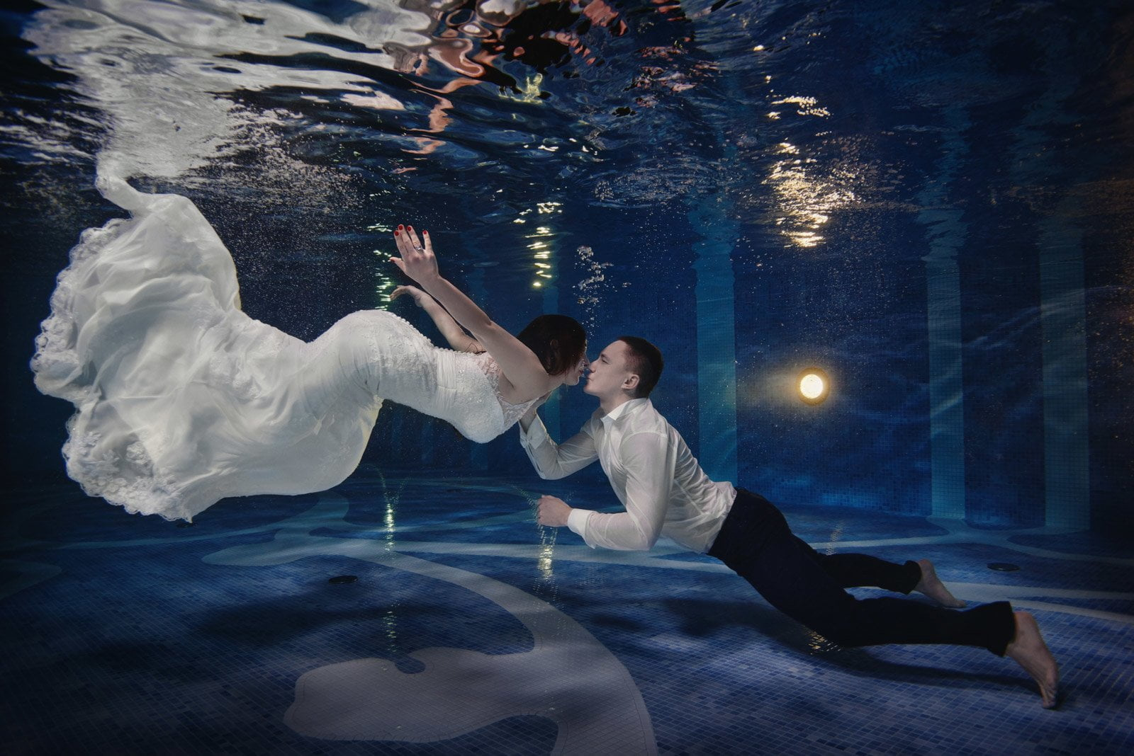 cudowna sesja pod wodą