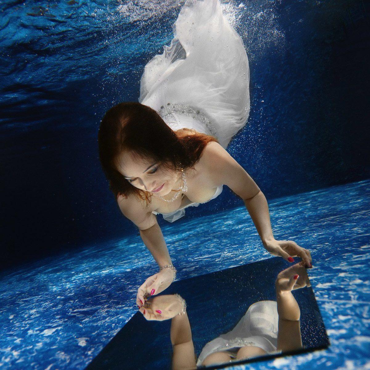 podwodne zdjęcia reklamowe