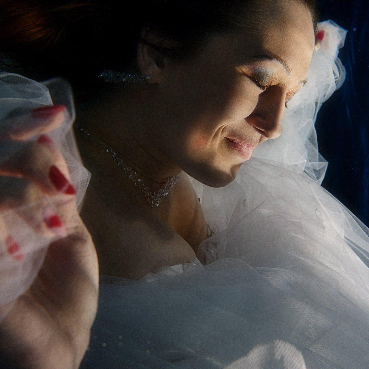 makijaż do sesji podwodnej