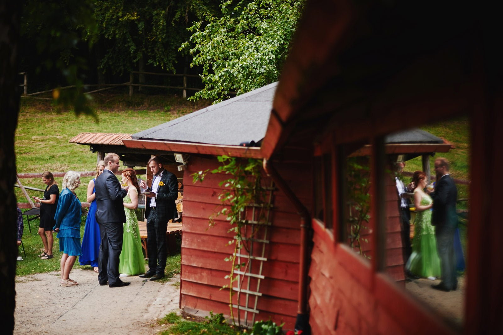 Bezalkoholowe wesele w lesie | Pomorskie | Chatka Gołębiewo 59