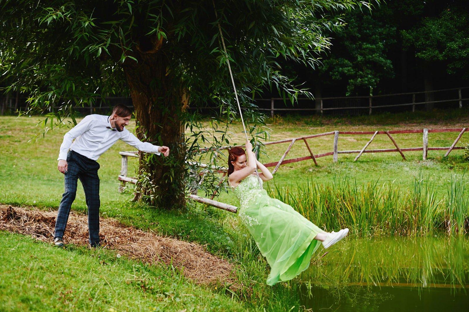 Bezalkoholowe wesele w lesie | Pomorskie | Chatka Gołębiewo 63