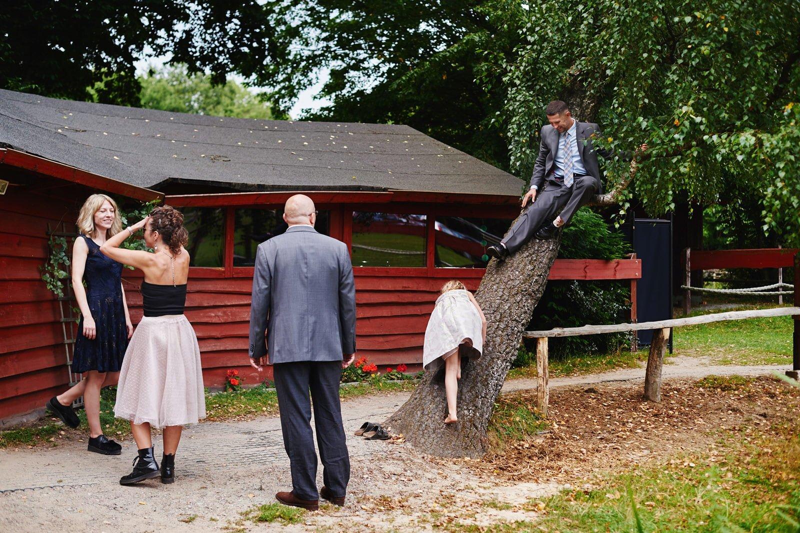 Bezalkoholowe wesele w lesie | Pomorskie | Chatka Gołębiewo 41