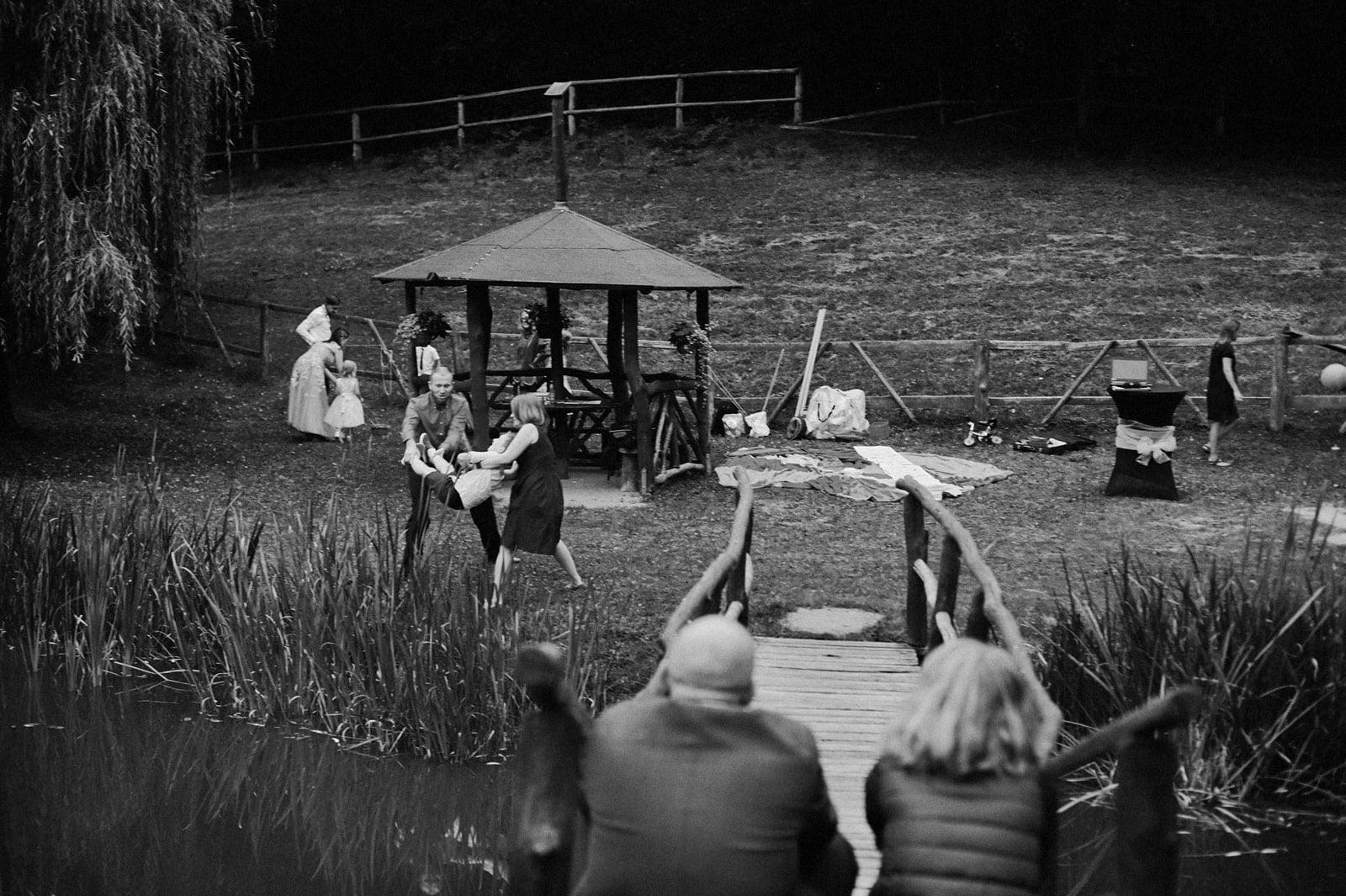 Bezalkoholowe wesele w lesie | Pomorskie | Chatka Gołębiewo 75