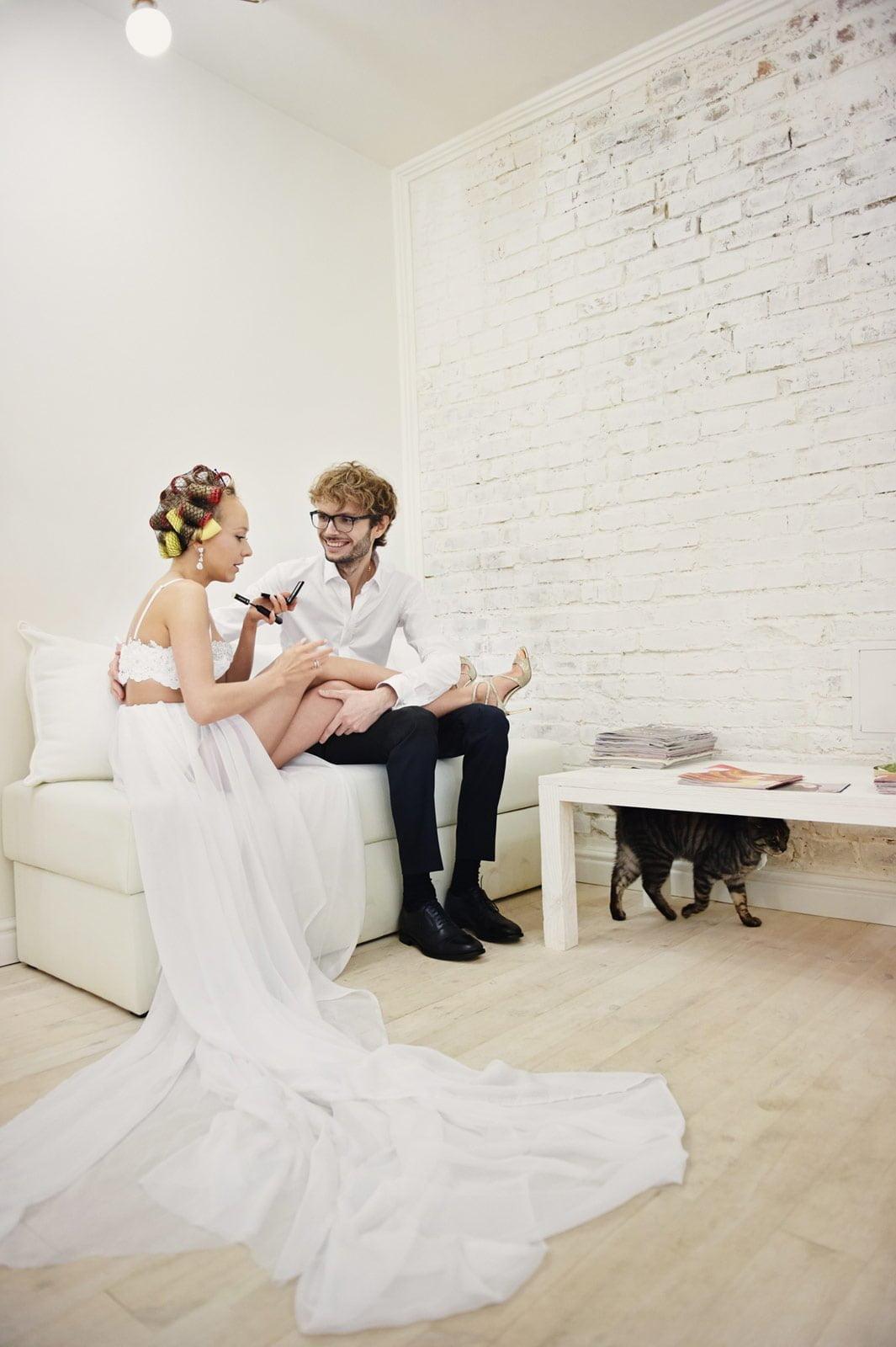 Ślub i wesele a koronawirus w Polsce | Sesja ślubna w domu 4